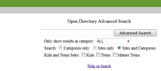 DMOZ ADvanced
