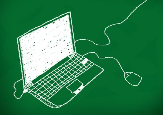 computer in green  2014
