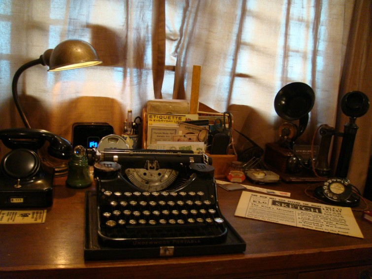 A typical 1920s - 30s Writing Desk
