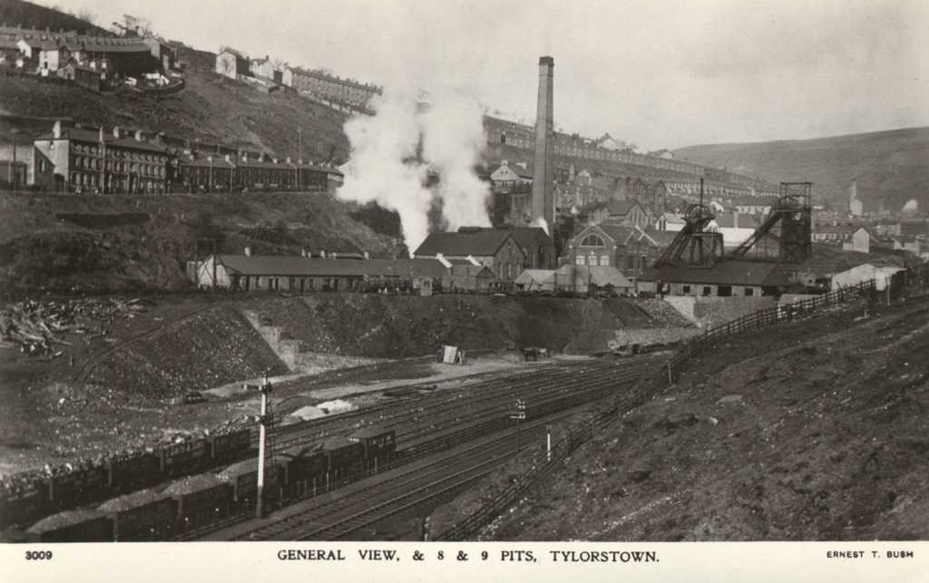 Glamorgan-Rhondda-Valleys-Tylorstown-General-View-Numbers-6-and-7-Pits