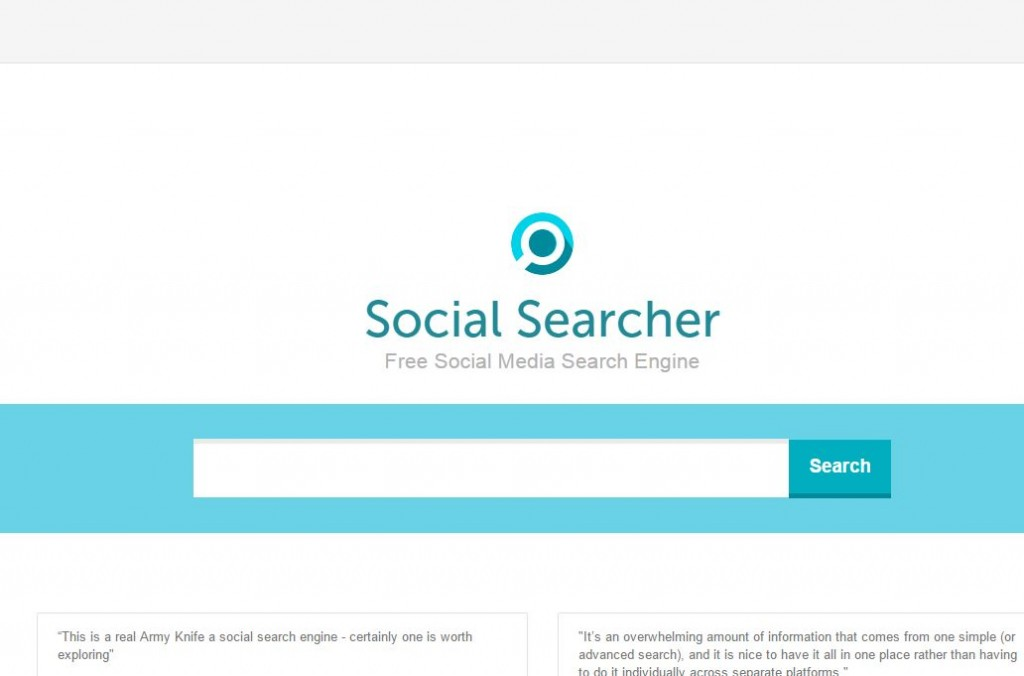 social searcher large