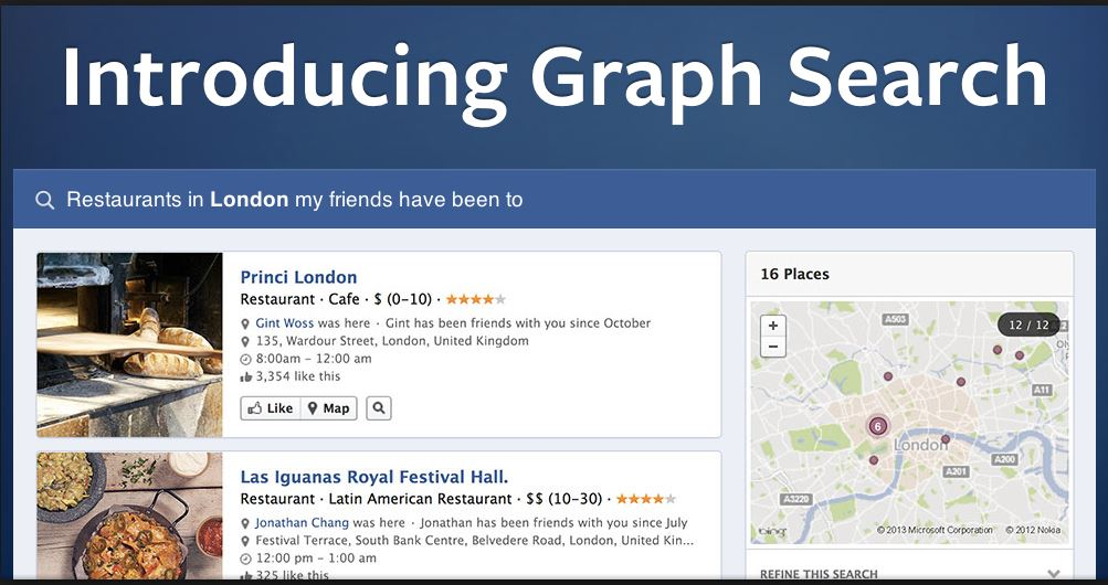 introducing graph search main start