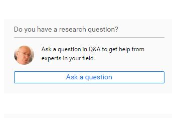 researchgate screen 4 reseach question